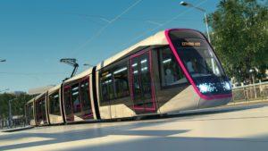 Rendering Alstom Citadis X05