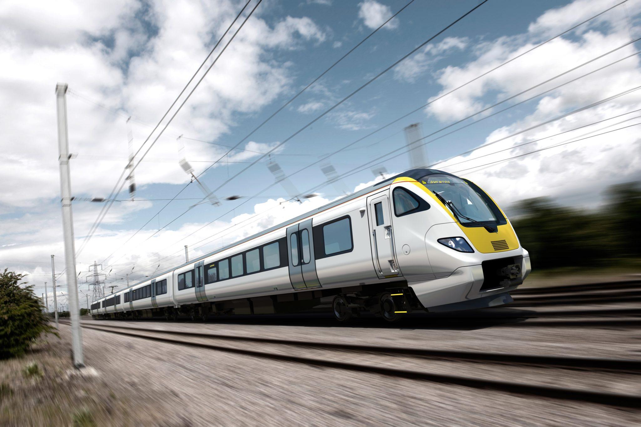 Bombardier Aventra EMU for Abellio Greater Anglia