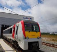 Refurbished exterior of the Class 175 Alstom Coradia DMU