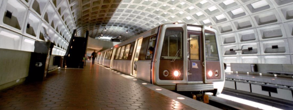 WMATA radio communication coverage