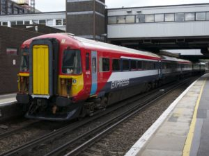 Gatwick Express at Gatwick Airport station