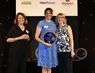 Unipart Rail Leader Wins Everywoman Transport & Logistics Award