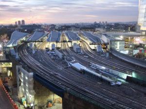 London Bridge station in the morning