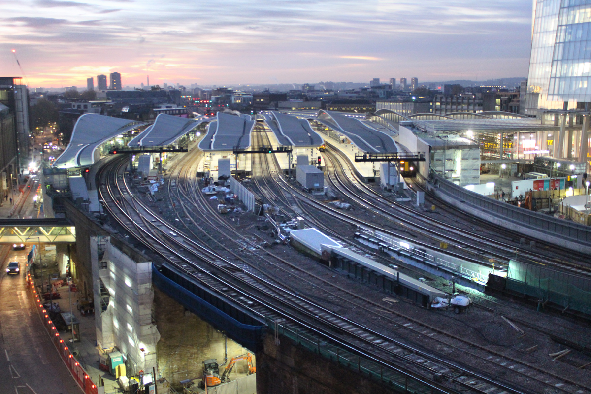 London Bridge was one of the stations to receive Network Rail investment