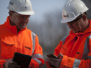 NETWORK RAIL track workers