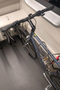 BART Trains Get Bike Straps Encouraging Active Travel