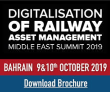 Rolling Stock & Track Maintenance Middle East 2019