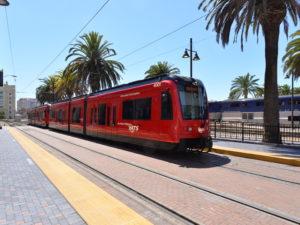 Light Rail Vehicle San Diego