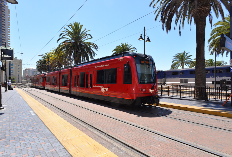 Light Rail Vehicle San Diego