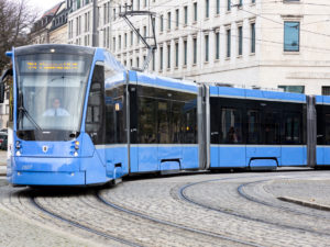 Siemens Mobility Avenio tram for Munich