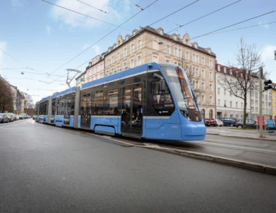 Munich Orders 73 Additional Avenio Trams from Siemens