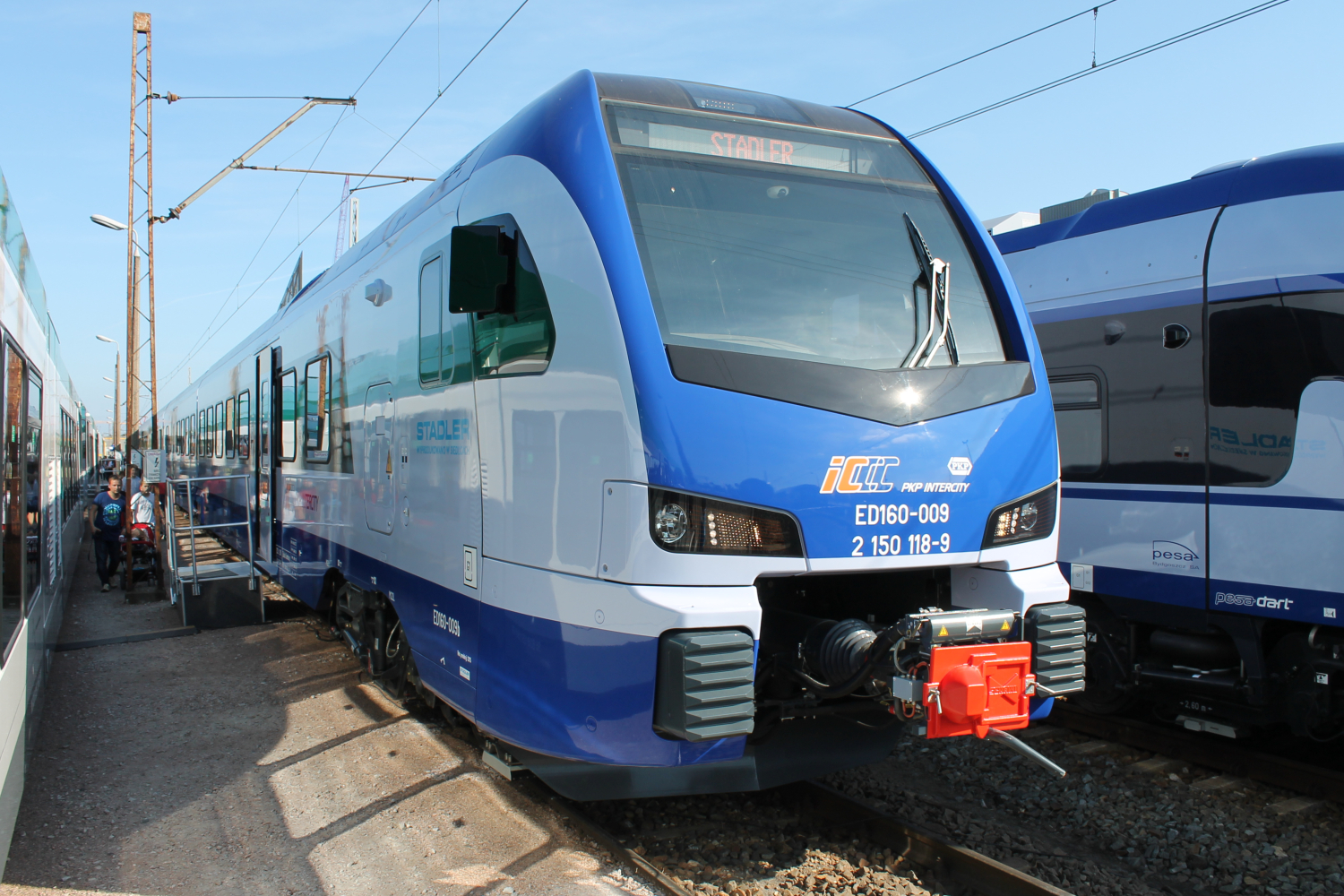 Stadler FLIRT 3 for PKP Intercity in Poland
