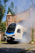 Stadler KISS roll out celebration in Hungary