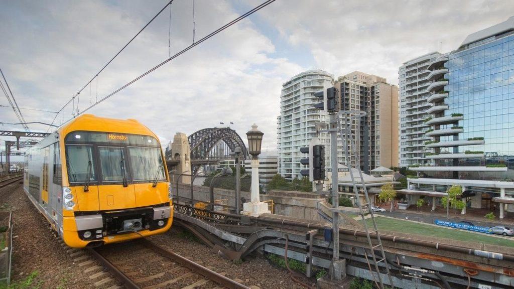 Sydney metropolitan passenger train