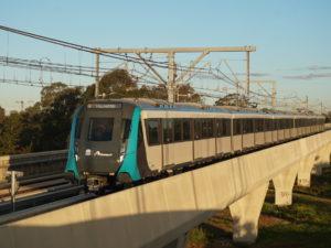 Sydney Metro Alstom Metropolis metro train