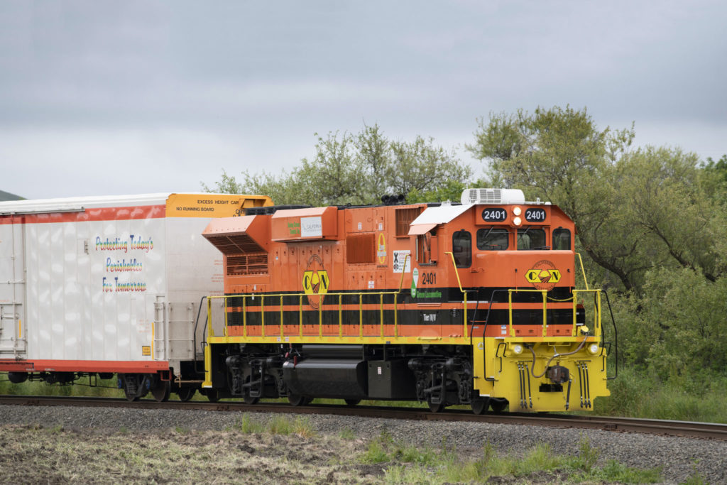 Tier 4 Low-Emission Locomotives CFNR