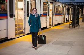 Uber Transit in Denver gives passengers integrated ticketing