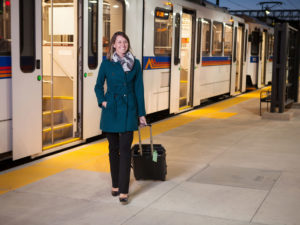 Uber Transit in Denver gives passengers integrated ticketing