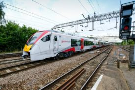Stadler Greater Anglia intercity train