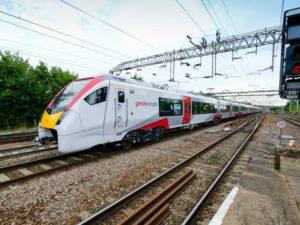 Stadler Greater Anglia intercity train