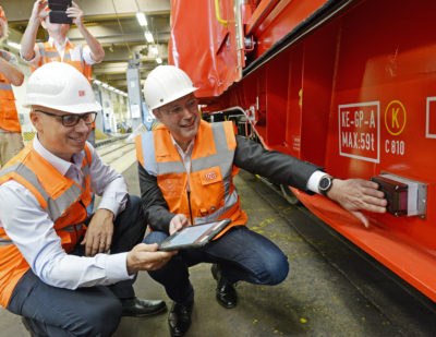 Entire DB Cargo Fleet to Go Digital by 2020