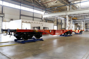 Flat Cars for Deutsche Bahn Sent for Testing