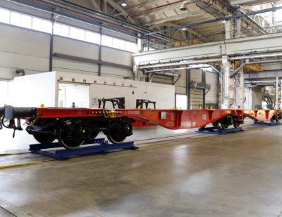 Flat Cars for Deutsche Bahn Sent for Testing