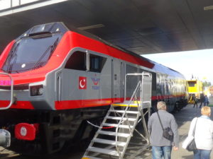 GE Transportation PowerHaul locomotive for Turkey
