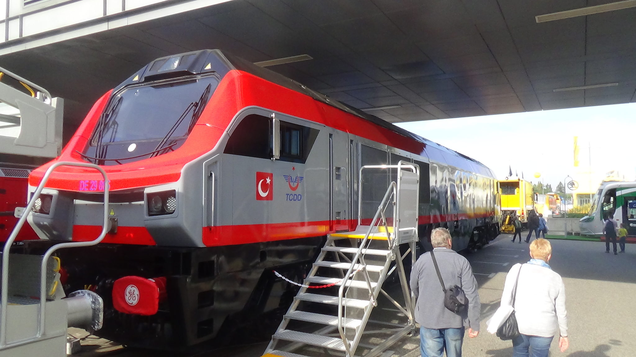 One of GE Transportation PowerHaul locomotives for Turkey
