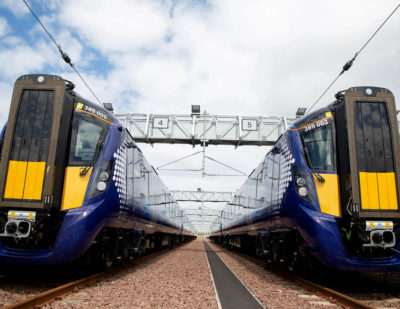 Eight-Car Trains Introduced on Edinburgh – Glasgow Route