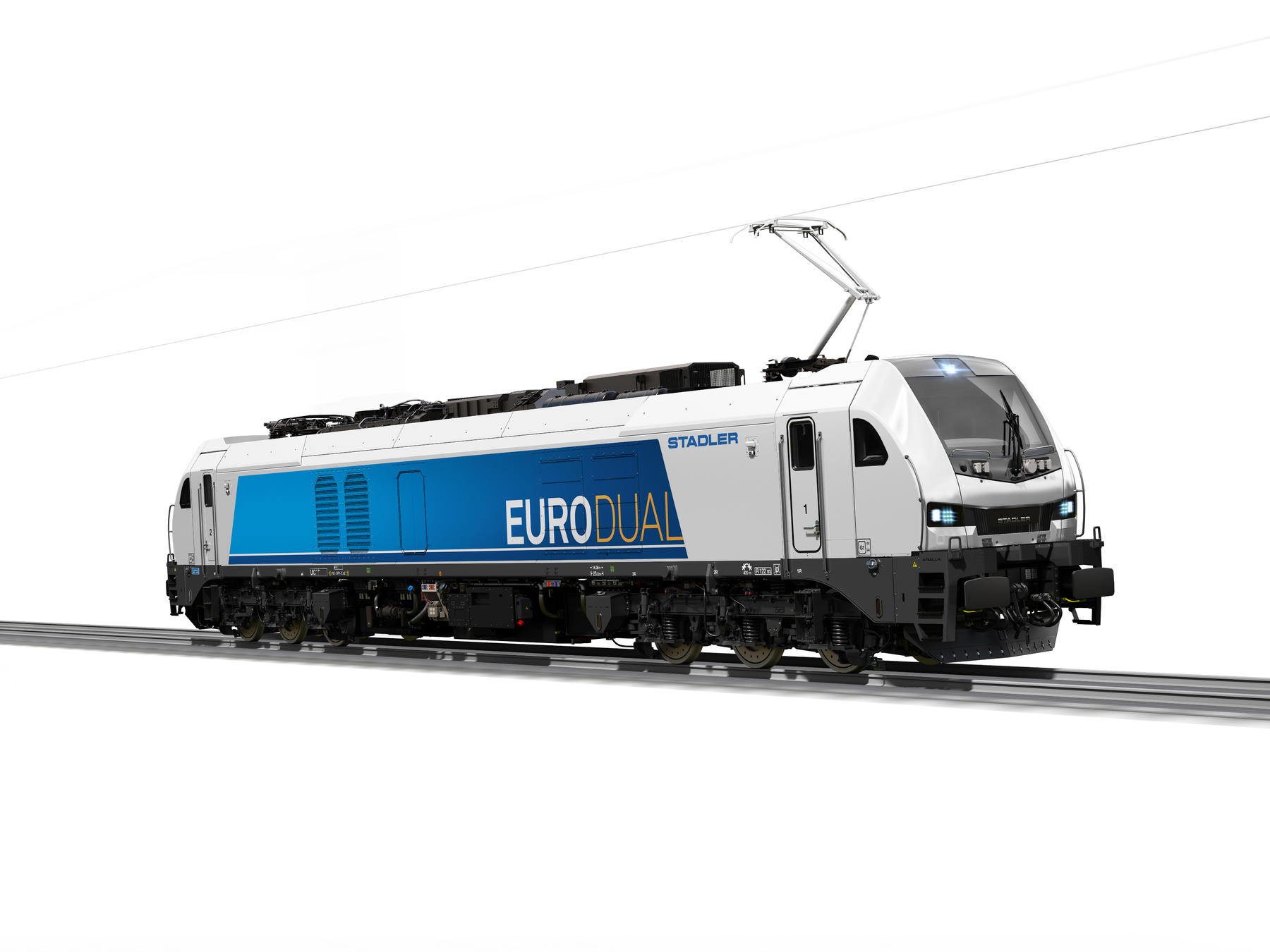 Rendering of Eurodual locomotive for Turkey