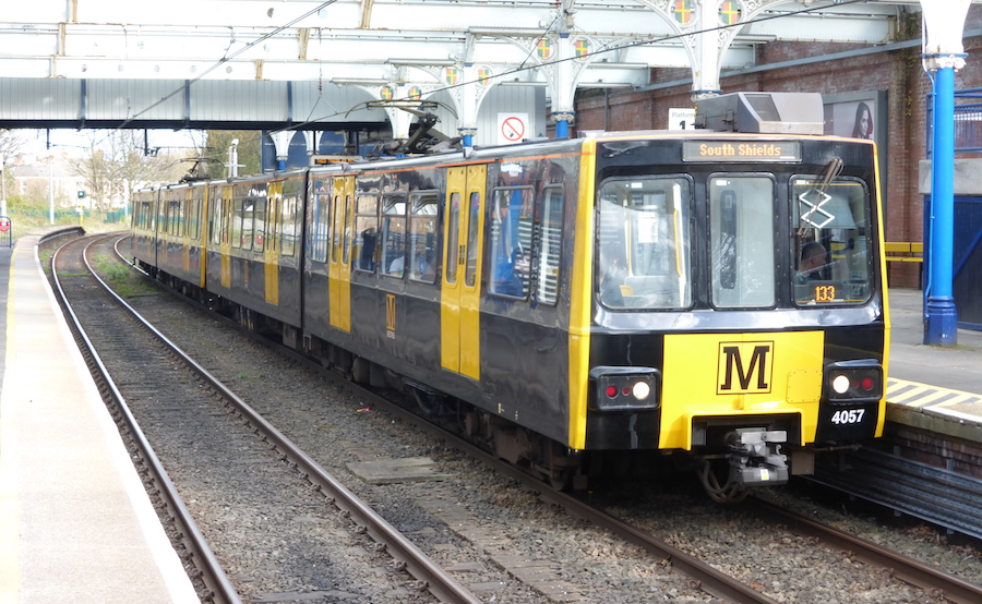 Tyne and Wear Metro Train