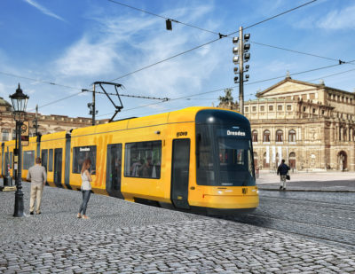 Dresden Picks Bombardier to Supply 30 FLEXITY Trams