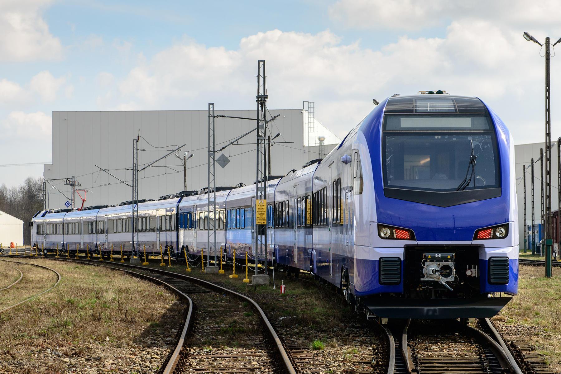 Stadler FLIRT for PKP Intercity