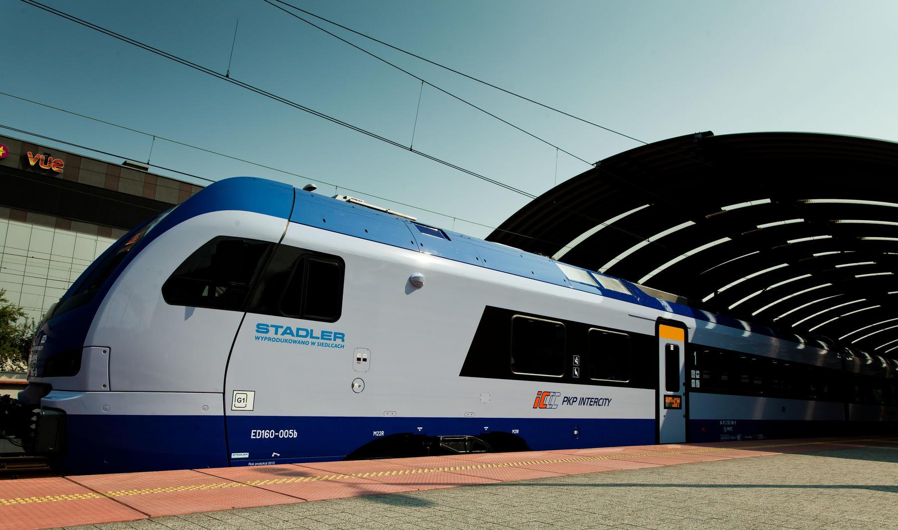PKP Intercity orders 12 Stadler FLIRT trains