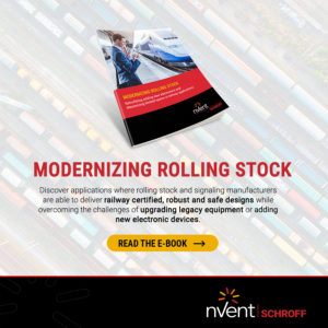 nVent SCHROFF: Modernizing Aging Equipment for Rolling Stock