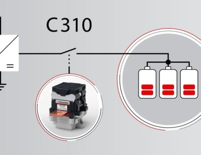 C310 Bidirectional DC NO Contactor for up to 500 A
