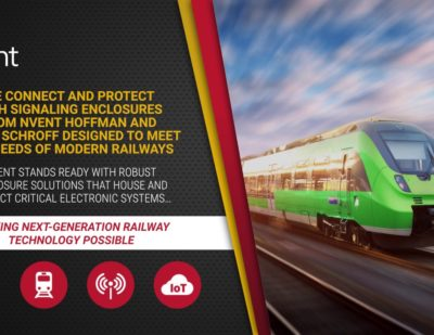 nVent Railway Signaling and Communication Enclosures