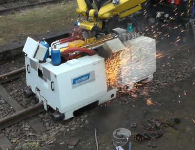 System AMS200 – The New Mobile Rail Welding Machine