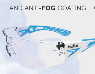 Bollé Safety PLATINUM Anti-Fog and Anti-Scratch Coating