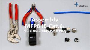 Telegärtner MFP8 IE Assembly Video