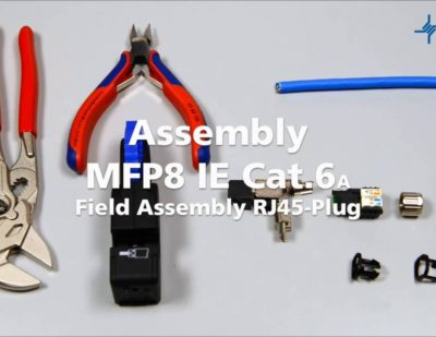 Telegärtner MFP8 IE Assembly Video