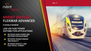 nVent Low Voltage Power Distribution Solutions at Work on Railways