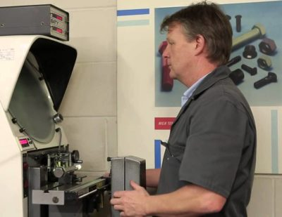 Clyde Fasteners Quality Control