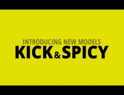 New Prescription Range: KICK & SPICY