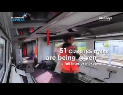 Transformation Timelapse – Class 185 Train