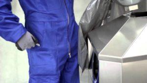 AUWEKO ORIGINAL Litter and Recycling Bins