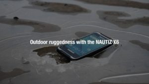 Handheld NAUTIZ X6: Outdoor Ruggedness