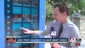UMKC First University to have Smart Kiosks