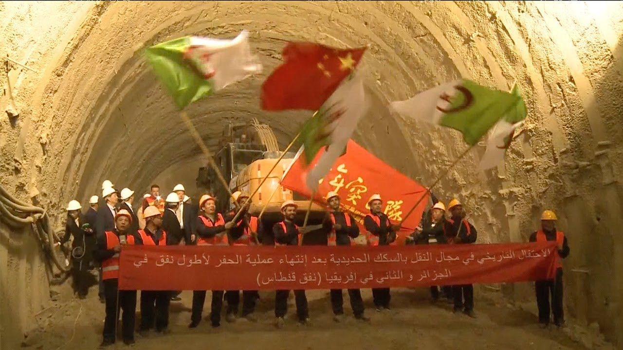 Successful Breakthrough in North Africa's Longest Rail Tunnel